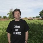 Milton Jones charity visit to Uganda