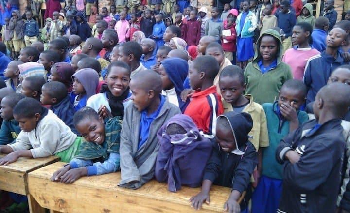 School awareness raising day in Rwanda