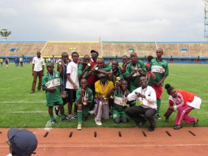 Huye team – football champions!