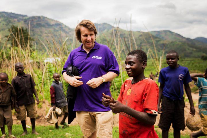Milton Jones in Rwanda